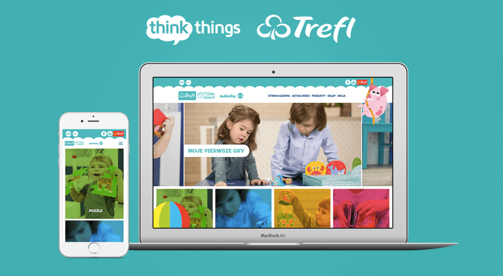 Trefl Little Planet – Strona Internetowa